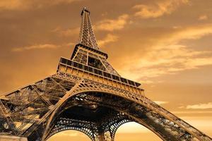 eiffeltorn, Paris, Frankrike foto