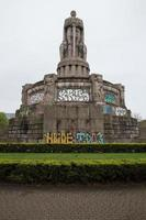 bismarck staty hamburg tyskland foto
