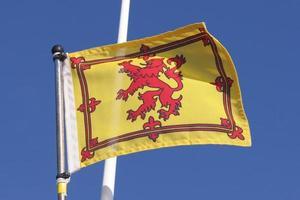 skotsk flagga foto