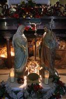 nativity scen foto