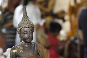 bhddha staty foto