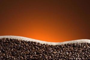kaffebönor bakgrund foto