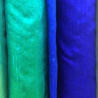 blå tygprover foto