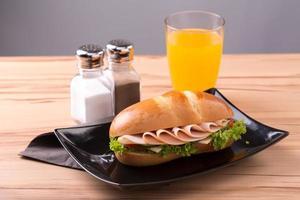 kalkonsmörgås foto