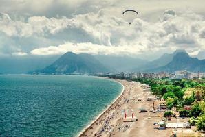 Antalya Turkiet vid havet foto