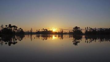 vacker orljus soluppgång foto