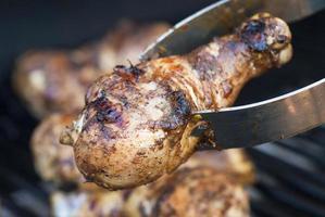 grillad ryck kyckling foto