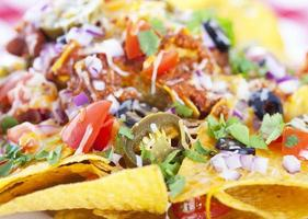 nachos bakgrund foto