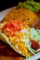 mexikansk taco foto
