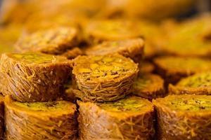 turkiska söta baklava foto