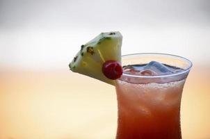 cocktail vid stranden foto