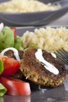 falafel middag foto
