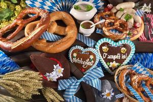 bayern och oktoberfest foto
