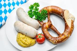 bayerska måltid foto