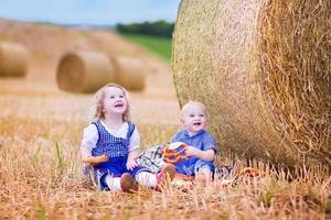 fanny barn under oktoberfest foto
