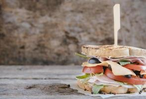 tost smörgås foto