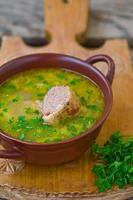 kyckling sup foto