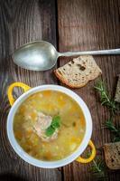 soppa med buck. foto