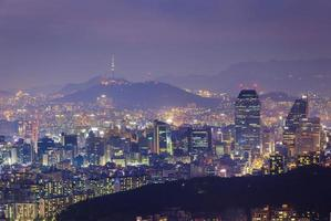 Seoul City, Sydkorea foto