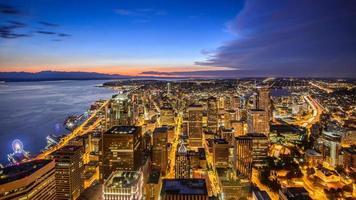 Seattle stad foto