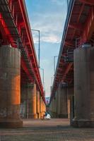 mellan två broar foto