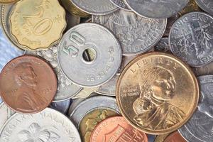 oss amerikanska mynt foto