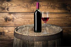 vinflaska, vin, flaska foto