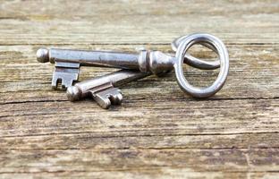två nycklar foto