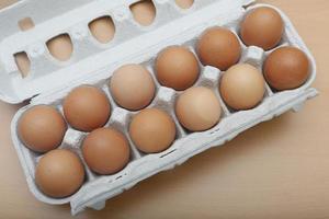 ägg i paketet foto
