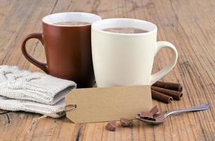 varm choklad foto