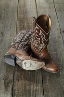 cowboy stövlar foto