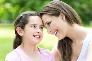 mor och dotter foto