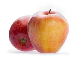 två äpple foto