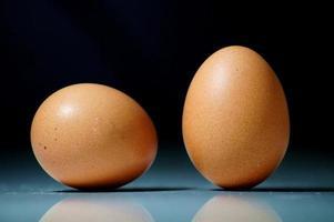 två ägg foto
