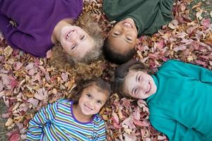 fyra flickor