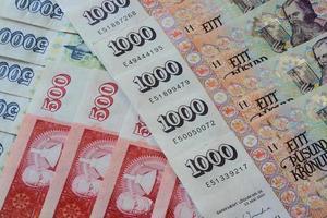 isländsk valuta foto