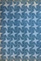 gammalt bokomslag med mönster foto