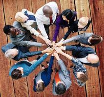 affärsfolk samarbetsmedarbetare team koncept foto