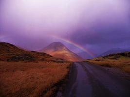 yewbarrow regnbåge foto