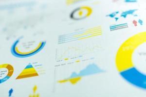 grafer och diagram foto