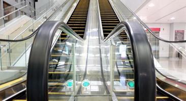 köpcentrum rulltrappor
