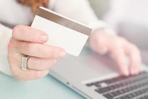 betalar online-shopping foto