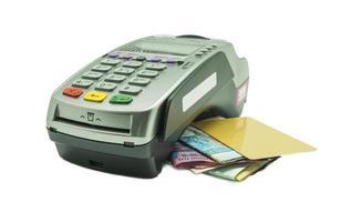 kreditkortläsare foto