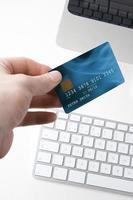 elektroniskt betalningskoncept foto