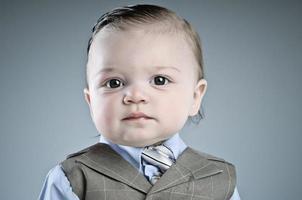baby affärsman foto