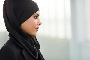 ung arabisk affärskvinna foto