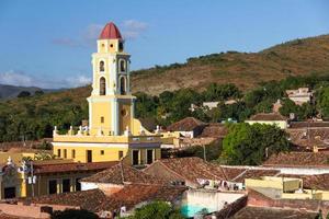 belltower, museo de la lucha contra bandidos, trinidad, Kuba foto