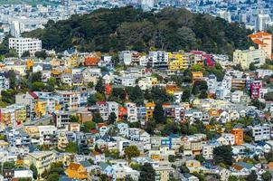 vackra hus i San Francisco foto