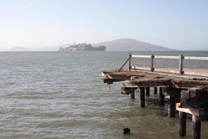 alcatraz ön i san francisco foto