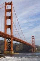 gyllene gate bridge i san francisco, california, usa foto